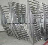 Stapeln Speicherrahmen-Textilder industriellen faltenden Reihe-Zahnstange