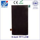 """5.0 """" 480X854 TFT LCDのモジュールの表示画面"""