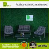 Wicker Rattan Sectional Lounge Sofá Set Garden Outdoor Furniture