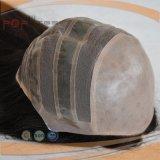 Perruque en soie élevée de cheveux humains de Handtied de couleur légère d'endroit pleine première longue