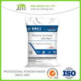 Solfato di bario naturale del grado industriale Baso4 per il rivestimento della polvere della vernice