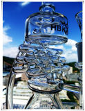 2017년 Enjoylife 인라인으로 확산한 유리제 수관 망치 버플러 석유 굴착 장치 연기가 나는 관은 여과자 유리 Waterpipe를 재생한다