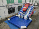 Riesiges aufblasbares Auto-Wasser-Plättchen für Erwachsene und Kinder
