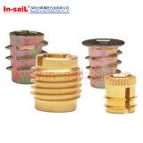Sergé - noix rayée de garniture intérieure pour la série auto-fileteuse