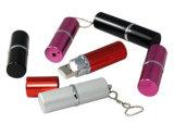 Mini movimentação de prata personalizada alta qualidade do flash do USB do batom do metal