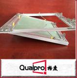 Feuchtigkeitsfeste Aluminiumzugangstür mit Sicherheitskette AP7752