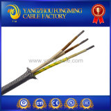 300V 500V Kabel van de Vlecht van het Roestvrij staal van 450 Graad de Glasvezel Gevlechte