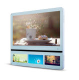 Ulra-Dünne Höhenruder 22+7-Inch LCD-Bildschirmanzeige und bekanntmachen Spieler