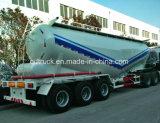 del cemento 50cbm del tanque acoplado a granel semi, acoplado a granel del cemento, petrolero a granel del cemento, graneleros del cemento, carro a granel del transporte del cemento
