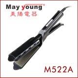 Refrescar el hierro plano del diseño de la extremidad del pelo del pelo Titanium ergonómico de Styler
