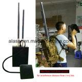 Hombre-Pila de discos la emisión del abejón del Uav del interruptor de la señal de la distancia de los 2.5km Jaming