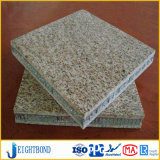 Panneau en aluminium de nid d'abeilles de granit de qualité pour des meubles de Chambre