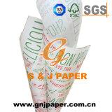 Commerce de gros logo personnalisé Hamburger enrouler du papier pour le marché des Émirats arabes unis
