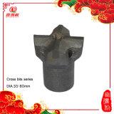 4 Karbid-Spitzen der Tasten-Bits für Bergbau-Funktion (38mm)
