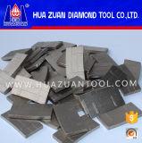 高品質のLaveの石のための完全なダイヤモンドセグメント