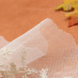 Il merletto del cotone della maglia L30014 merletta il testo fisso per l'indumento