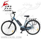 E-Bici blu della batteria di litio della lega di alluminio 700C 36V
