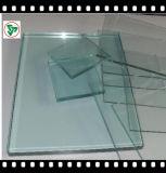 vidrio de flotador del claro de 6m m para el propósito de la construcción