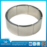 Rare Earth Fabricant NdFeB Arc Segment Magnet