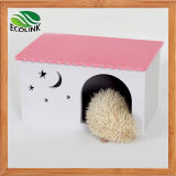 Gaiola Ecológica de Hedgehog Gaiola de cobaias Coelho Hole Toy House Chalet Multicolour Waterproof House
