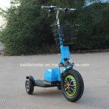 3-Wheel gingembre Zappy guidé électrique de scooter de véhicule du scooter 500W