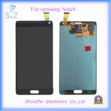 Affissione a cristalli liquidi dello schermo di tocco per la nota 4 della galassia per l'affissione a cristalli liquidi di Samsung Note4 N9100