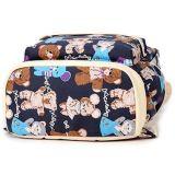 Мода печати Canvas рюкзак учащихся школы для девочек подушек безопасности