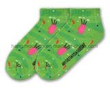 Il nuovo disegno pettinato comodo del vestito dal cotone scherza il calzino della caviglia