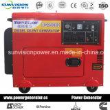 Gerador Diesel portátil 2kw a 12kw, gerador para o uso Home