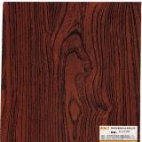 Papel baixo da grão de madeira escura