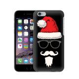 rupture positive de l'iPhone 6 sur la caisse de bonhomme de neige de Joyeux Noël de couverture