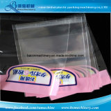 Plastiktasche des Selbstdichtungs-anhaftende wiederversiegelbare Cello-BOPP DVD, die Maschine herstellt