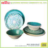 El más nuevo diseño 2017 de cerámica como el tazón de fuente de sopa de la melamina