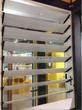 Ventana de cristal de persiana contraventanas de aluminio
