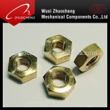 Brass Hexagon Thin Nut