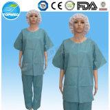Fato de esfregar descartável, Patient Srcub Suit, SMS Scrub Suit