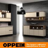 Armadio da cucina di legno della melammina moderna di Oppein (OP16-074)