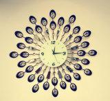 Часы стены красивейшего утюга украшения нанесённые для вашей живущий комнаты