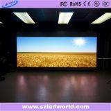 P3, P6 affichage vidéo de coulage sous pression polychrome de location d'intérieur de l'écran DEL pour annoncer (CE, RoHS, FCC, ccc)