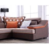 居間の家具- Fb1150のためのリネン高品質ファブリックが付いている現代デザイン部門別のソファー