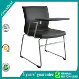 Nueva silla de la tarea del estudiante del diseño de la venta del negro caliente mejor con la pista de escritura