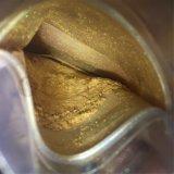 El oro de pigmento perlado Artesanía Revestimiento de pintura en polvo de perla de colorear
