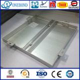 Panneau simple en aluminium pour toit en métal rideau métallique