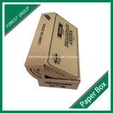 Reciclaje de papel ondulado caja de embalaje con relleno de espuma