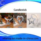 Sostenedor de vela de la Navidad con Niza diseño
