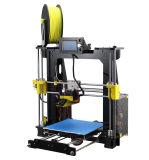 Imprimante chaude rentable de l'appareil de bureau DIY 3D de la vente 210*210*225mm Fdm pour le GV de la CE