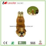 Do cão gordo da ioga da resina estátua engraçada de venda quente do ornamento do jardim do Pose para a decoração Home