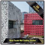 CNC는 현대 건물을%s 알루미늄 위원회를 만드는 외면을 만들었다