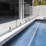 마개 수영장 담 테라스를 위한 유리제 죔쇠 디자인을%s 가진 유리제 방책