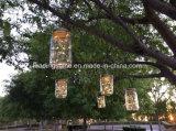 La chaîne de caractères micro de DEL allume de mini lumières argentées ultra minces de câble métallique de lumière de chaîne de caractères de couleur multi à piles pour la noce d'arbres